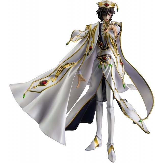 GEM Series Code Geass Lelouch of the Rebellion R2 1/8 Scale Pre-Painted Figure: Lelouch vi Britannia