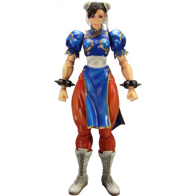 Super Street Fighter IV Play Arts Kai Non Scale Pre-Painted PVC Figure: Chun-li