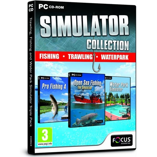 Trawling, Fishing and Park Simulator Triple Pack