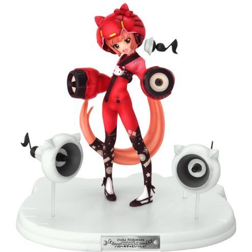 Hello Kitty to Issho! Non Scale Pre-Painted PVC Figure: Nekomura Iroha Vocaloid 2 Ver.