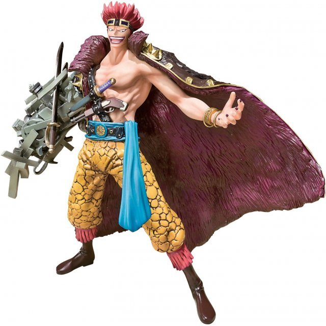 One Piece Figuarts Zero Non Scale Pre-Painted PVC Figure: Eustass