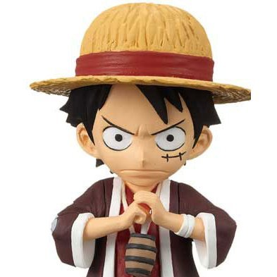 One Piece World Collectable Pre-Painted PVC Figure vol.15: TV121 - Monkey D. Luffy