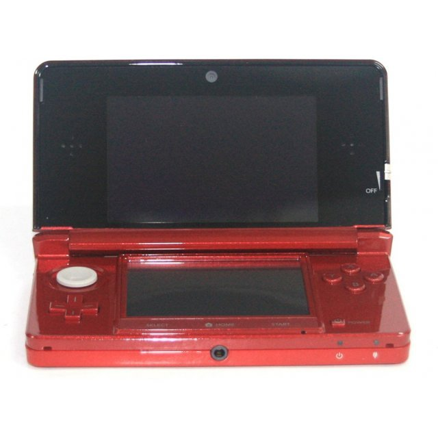 Nintendo 3DS (Flame Red)