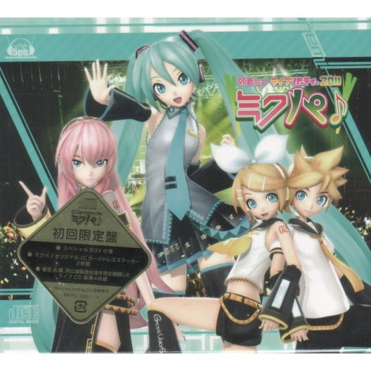 Miku Hatsune Live Party 2011 Live CD [Limited Edition]