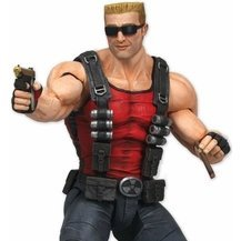 Duke Nukem Forever Series 3 Pre-Painted PVC Action Figure: Duke Nukem