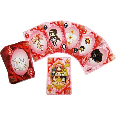 Puella Magi Madoka Magica Clear Playing Cards