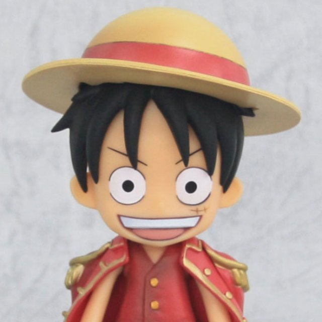 Chibi Arts One Piece Non Scale Pre-Painted PVC Figure: Monkey D Luffy