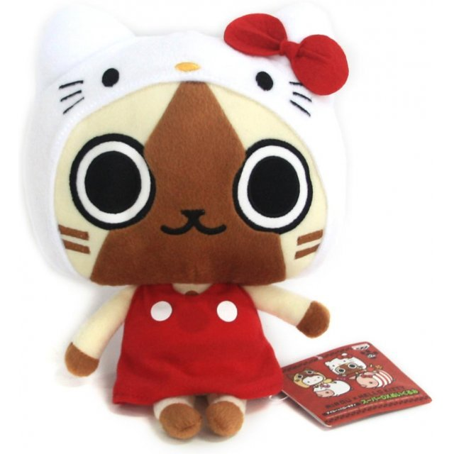 Monster Hunter Airou x Hello Kitty Plush Doll: Airou