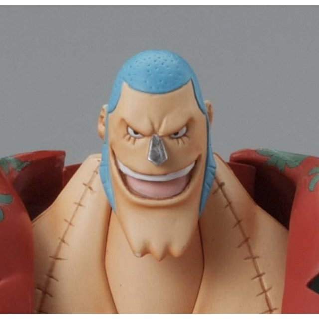 One Piece Non Scale Pre-Painted PVC Figure: Chogokin Franky
