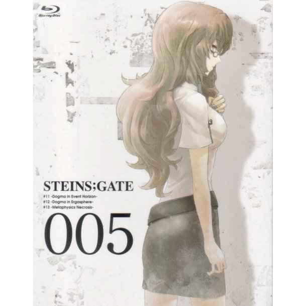 Steins;Gate Vol.5 [Blu-ray+CD Limited Edition]