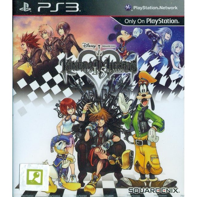 Kingdom Hearts HD 1.5 ReMIX (English)