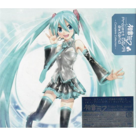 Hatsune Miku - Project Diva - Extend Complete Collection [2CD+DVD]