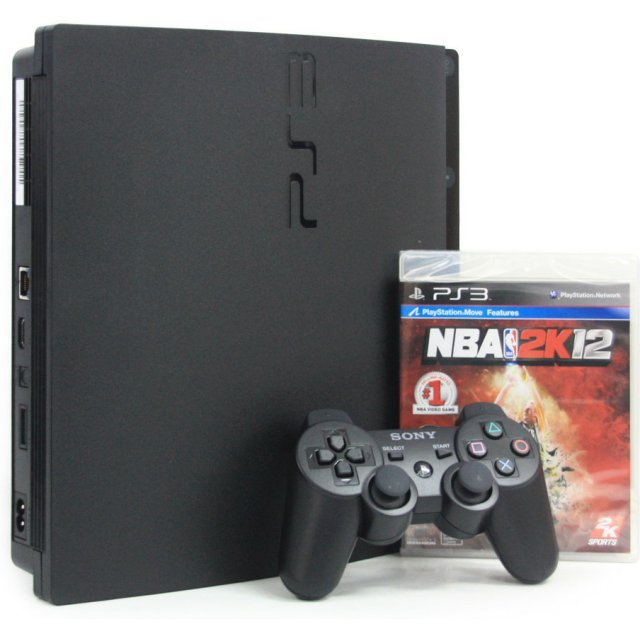 PlayStation3 Slim Console - NBA 2k12 Value Pack (HDD 160GB Black Model) - 220V