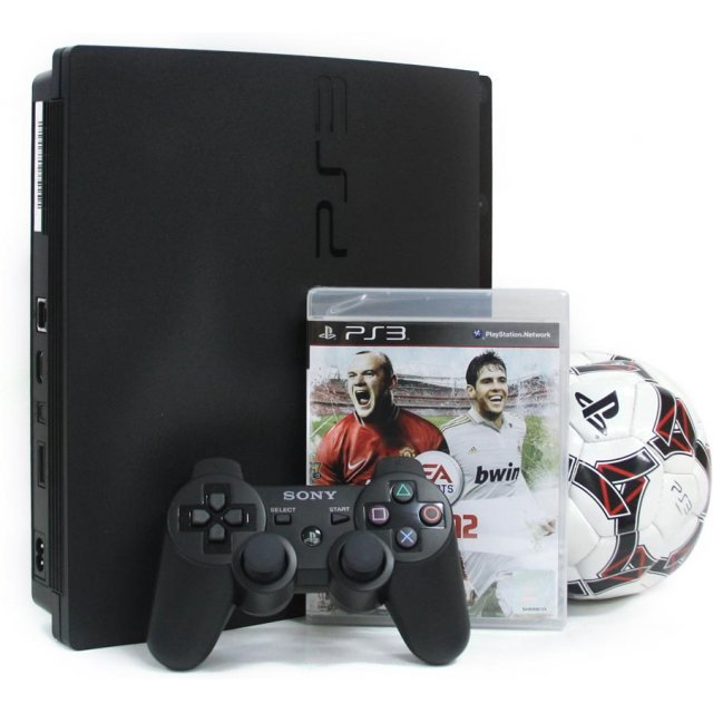 PlayStation3 Slim Console - FIFA Soccer 12 Value Pack (HDD 320GB Black Model) - 220V
