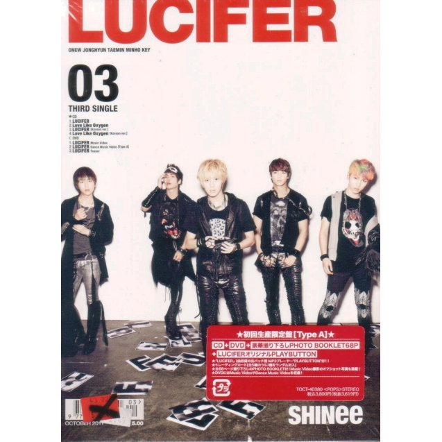 Lucifer [CD+DVD+Photo Booklet Limited Edition Type A]