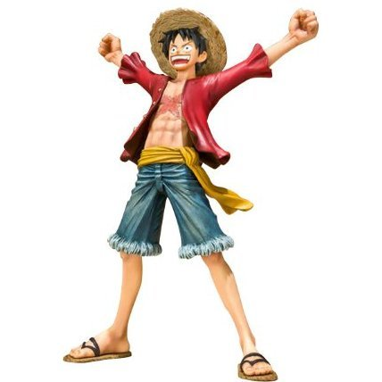 One Piece Figuarts Zero Non Scale Pre-Painted PVC Figure: Monkey D. Luffy New World Ver.