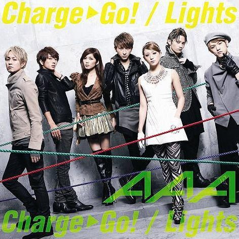 Charge & Go / Lights [CD+DVD Jacket Type B]