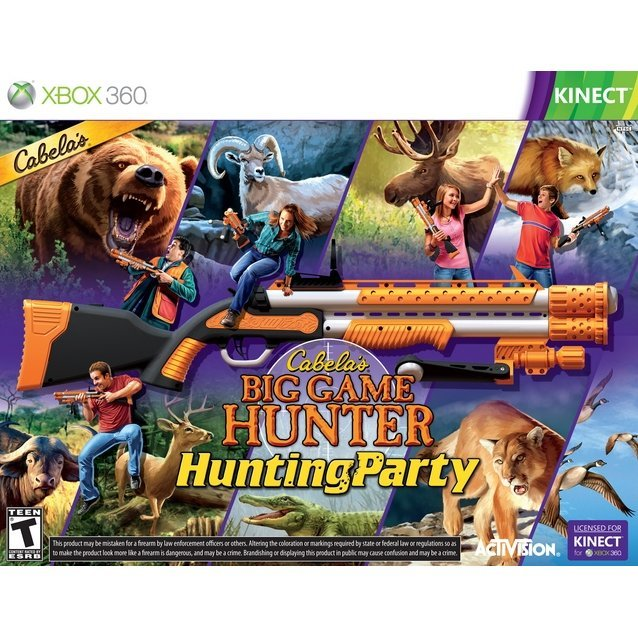 Cabela's Big Game Hunter: Hunting Party (w/ Top Shot Sport)