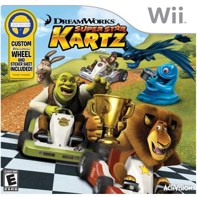 DreamWorks Super Star Kartz (w/ Wheel)