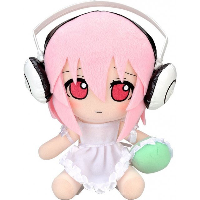 Nitro Super Sonic Series 04 Plush Doll: Super Sonico Ver. 1.5