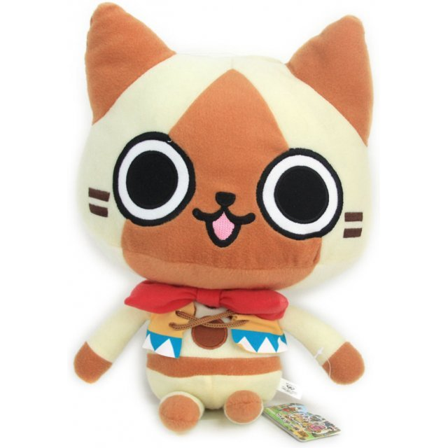 Monster Hunter Monhan Diary Poka Poka Big Plush Doll: Airou