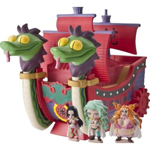One Piece Chara Bank Pirate Ship Series Non Scale Pre-Painted  Figure: Hancock Pirates Ship