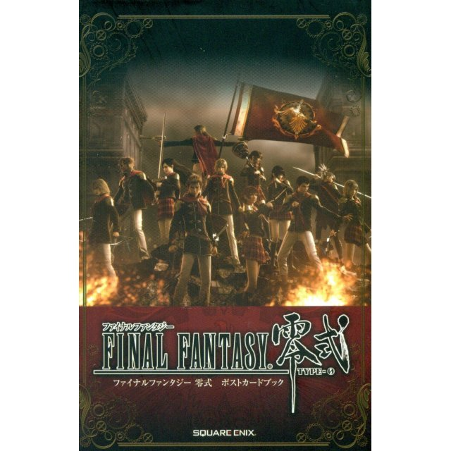 Final Fantasy Type-0 Post Card Book