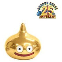 Dragon Quest Metallic Monsters Gallery Non Scale Pre-Painted Figure: Dragon Quest 25th anniversary Slime