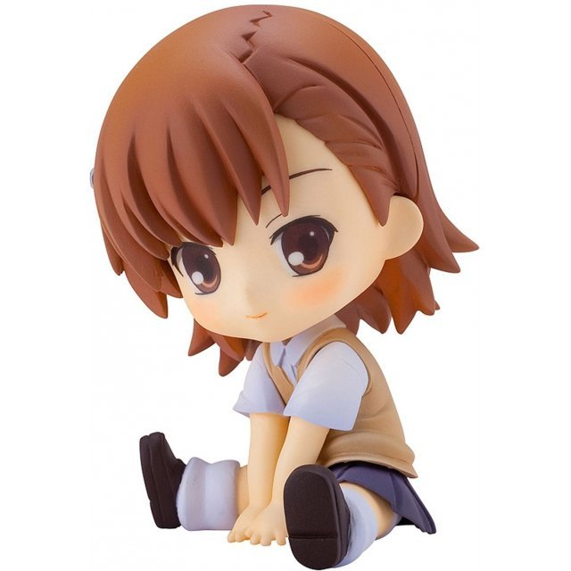 To Aru Majutsu no Index II Non Scale Pre-Painted PVC Figure: Pettanko Misaka Mikoto