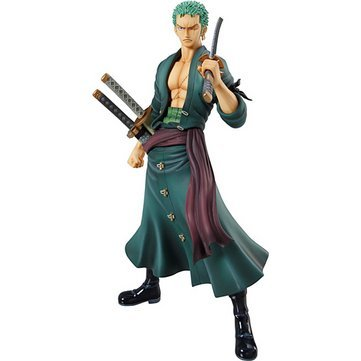 Excellent Model One Piece Portrait of Pirates Sailing Again 1/8 Scale Pre-Painted PVC Figure: Roronoa Zoro (Re-Run) (Japanese Version)