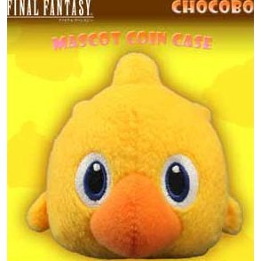 Final Fantasy Type-0 Mascot Coin Case: Chocobo