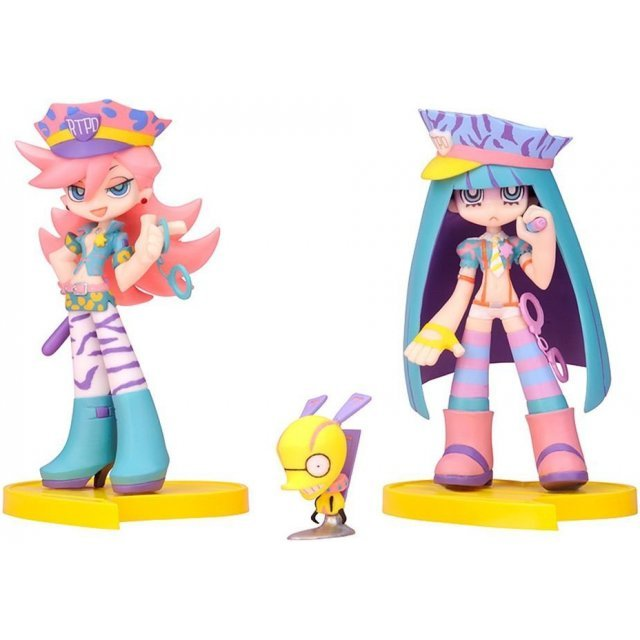 Twin Pack+ Panty & Stocking with Garterbelt Non Scale Pre-Painted PVC Figure: Panty & Stocking with Chuck + galaxxxy