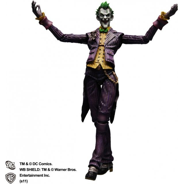 Batman Arkham Asylum Play Arts Kai Pre-Painted Figure: Joker