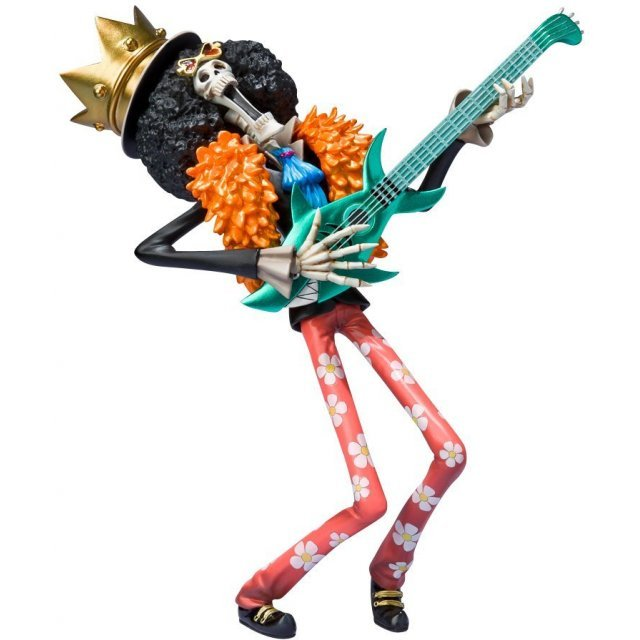 One Piece Figuarts Zero Non Scale Pre-Painted PVC Figure: Brook New World Ver.
