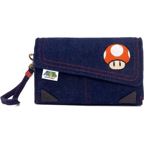 Denim Case for 3DS (Toadstool Edition)