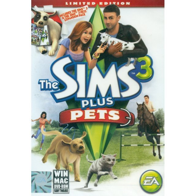 The Sims 3 + Pets (Limited Edition) (DVD-ROM)
