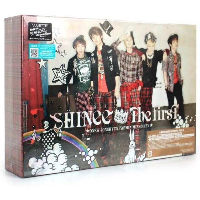 The First Special Box [CD+DVD+Photo Booklet+Goods Limited Edition]