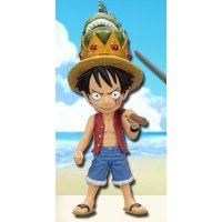 One Piece World Collectable Pre-Painted PVC Figure Vol.19: TV156 - Monkey D. Luffy