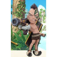 One Piece World Collectable Pre-Painted PVC Figure Vol.19: TV157 - Wiper