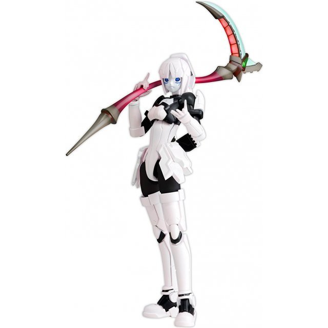 Phantasy Star Online Blue Burst 1/12 Scale Pre-Painted Plastic Model Kit: Racaseal Whitill Ver. Apsy