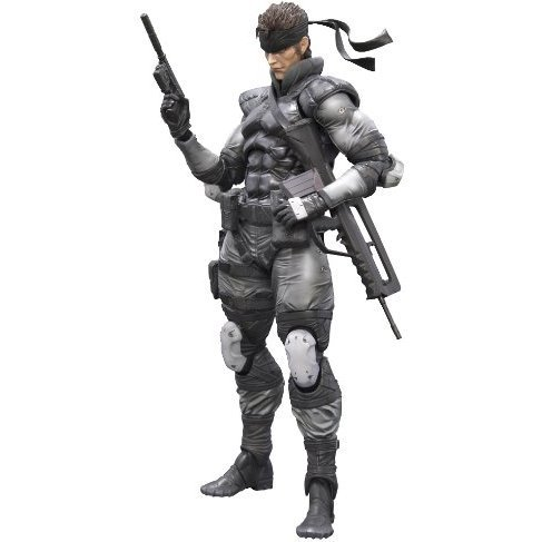 Metal Gear Solid Play Arts Kai Pre-Painted Figure: Solid Snake
