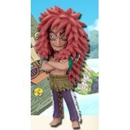 One Piece World Collectable Pre-Painted PVC Figure Vol.19: TV160 - Calgara
