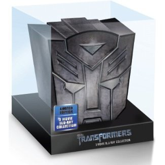 Transformers: Dark of the Moon [BIG HEAD Blu-Ray 3 dics]