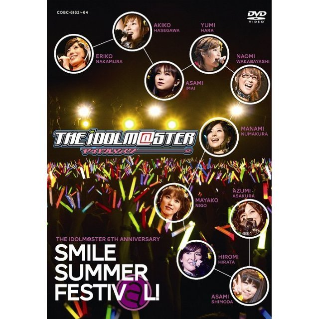 The Idolm@ster 6th Anniversary Smile Summer Festiv@l DVD Box