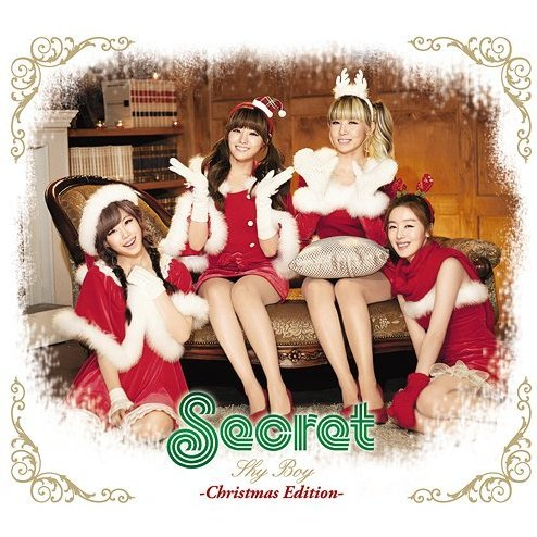 Shy Boy - Christmas Edition [CD+DVD+Photo Book+Goods Limited Edition]