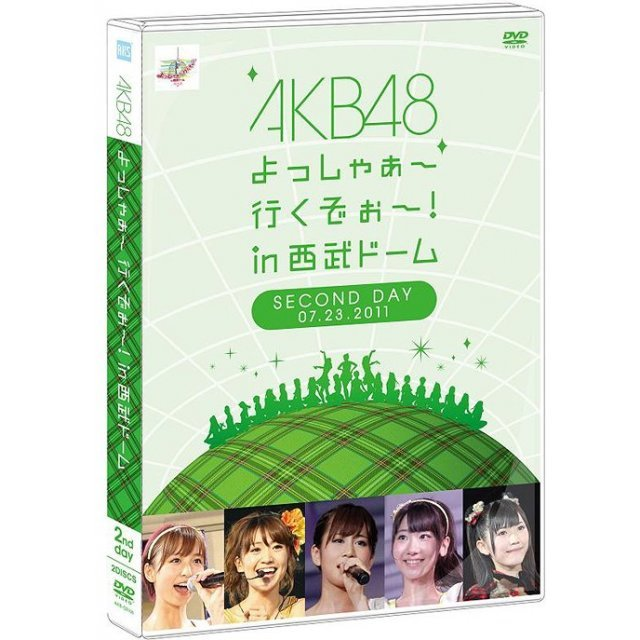 Akb48 Yoshaa Ikuzo In Seibu Dome Second Concert DVD