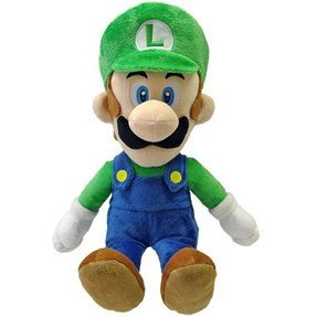 Super Mario Series Plush Doll: Luigi (M Size)