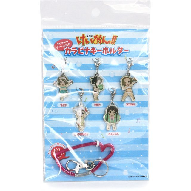 K-ON! Pre-Painted Key Holder Set