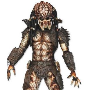 Predators Series 4 Pre-Painted PVC Action Figure: City Hunter Predator