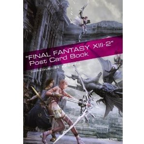 Final Fantasy XIII-2 Post Card Book